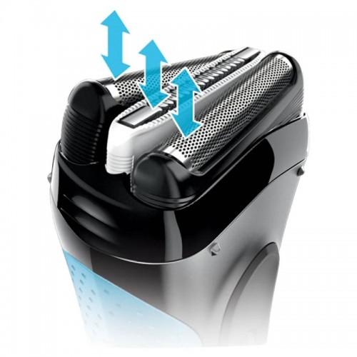 Электробритва Braun Series 3 ProSkin 3010ts  + гель Gillette + футляр + несессер