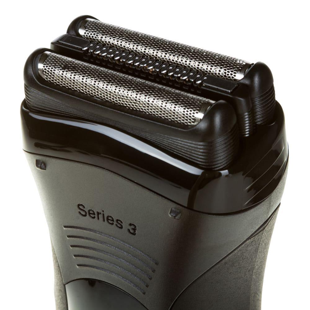 Электробритва Braun 330s-4 Series 3 (черно-синяя)
