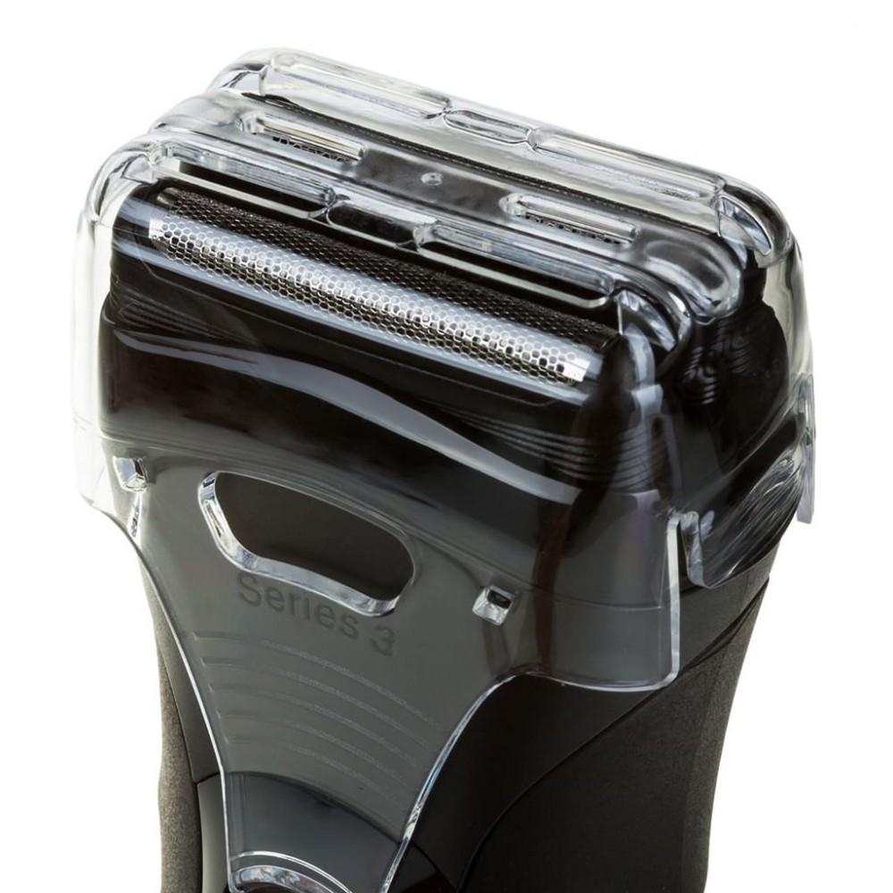 Электробритва Braun 330s-4 Series 3 (красно-черная)