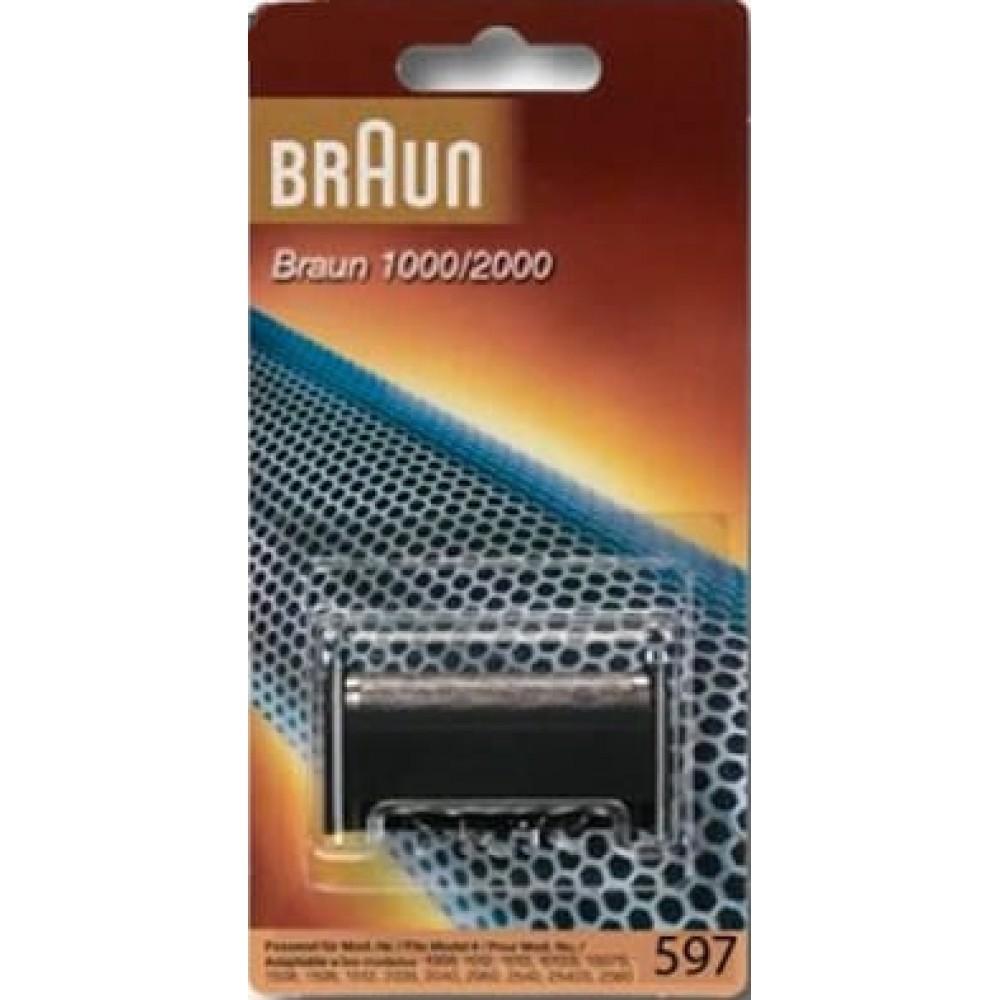 Сетка для бритв Braun серии 1000/2000 (597)