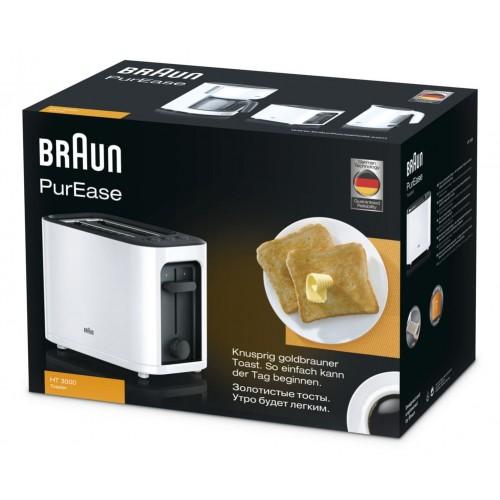 Тостер Braun PurEase HT3000WH белый