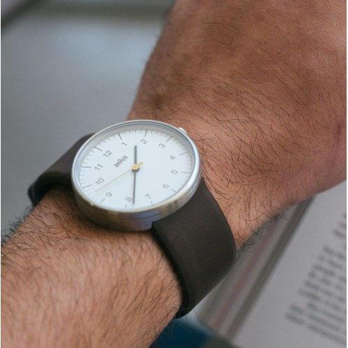 Часы Braun BN0021 White Brown