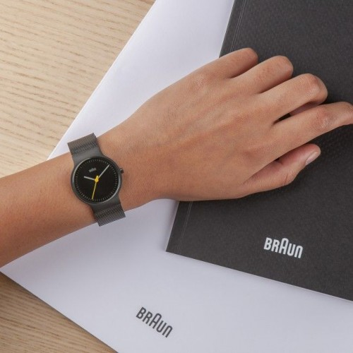 Часы Braun BN0211 Slim ALL Black lady