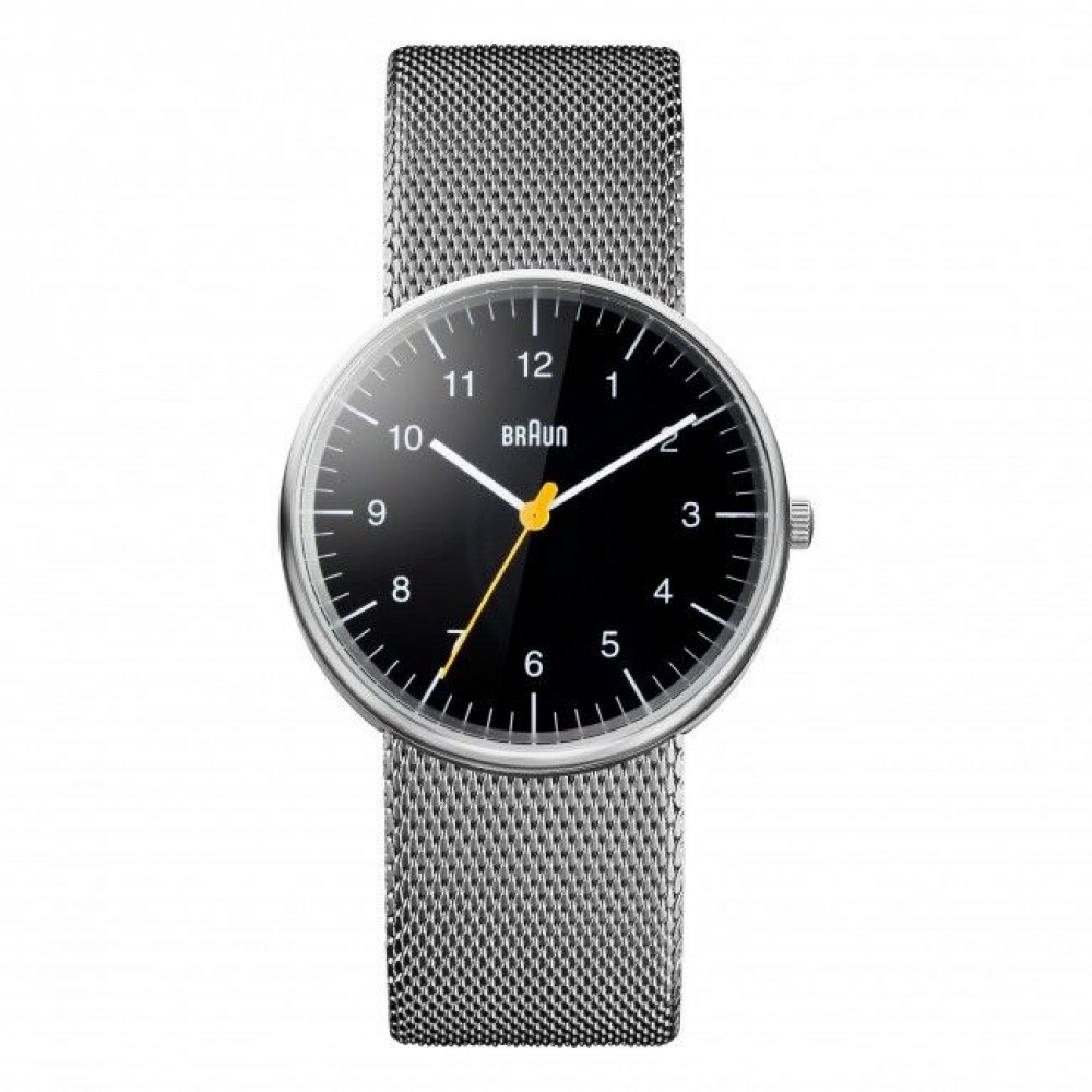 Часы Braun BN0021 black steel