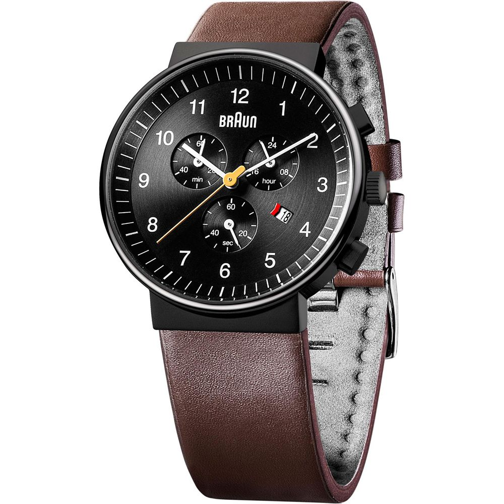 Часы Braun BN0035 Black Brown