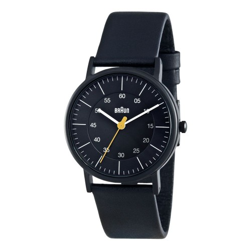Часы Braun NH0011 Lady Black Leather
