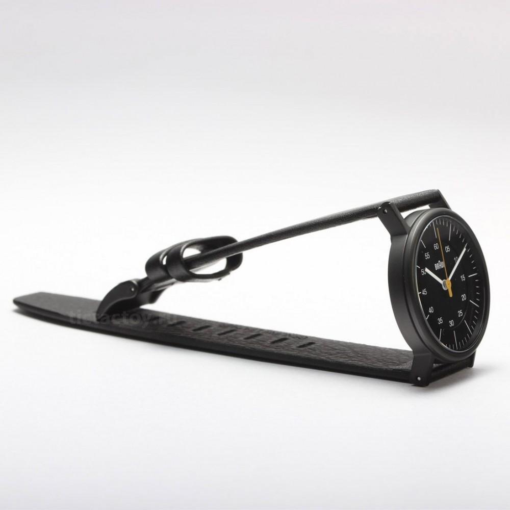 Часы Braun NH0011 Lady Black Leather