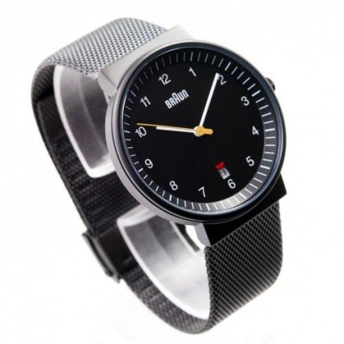 Часы Braun BN0032 Black Mesh
