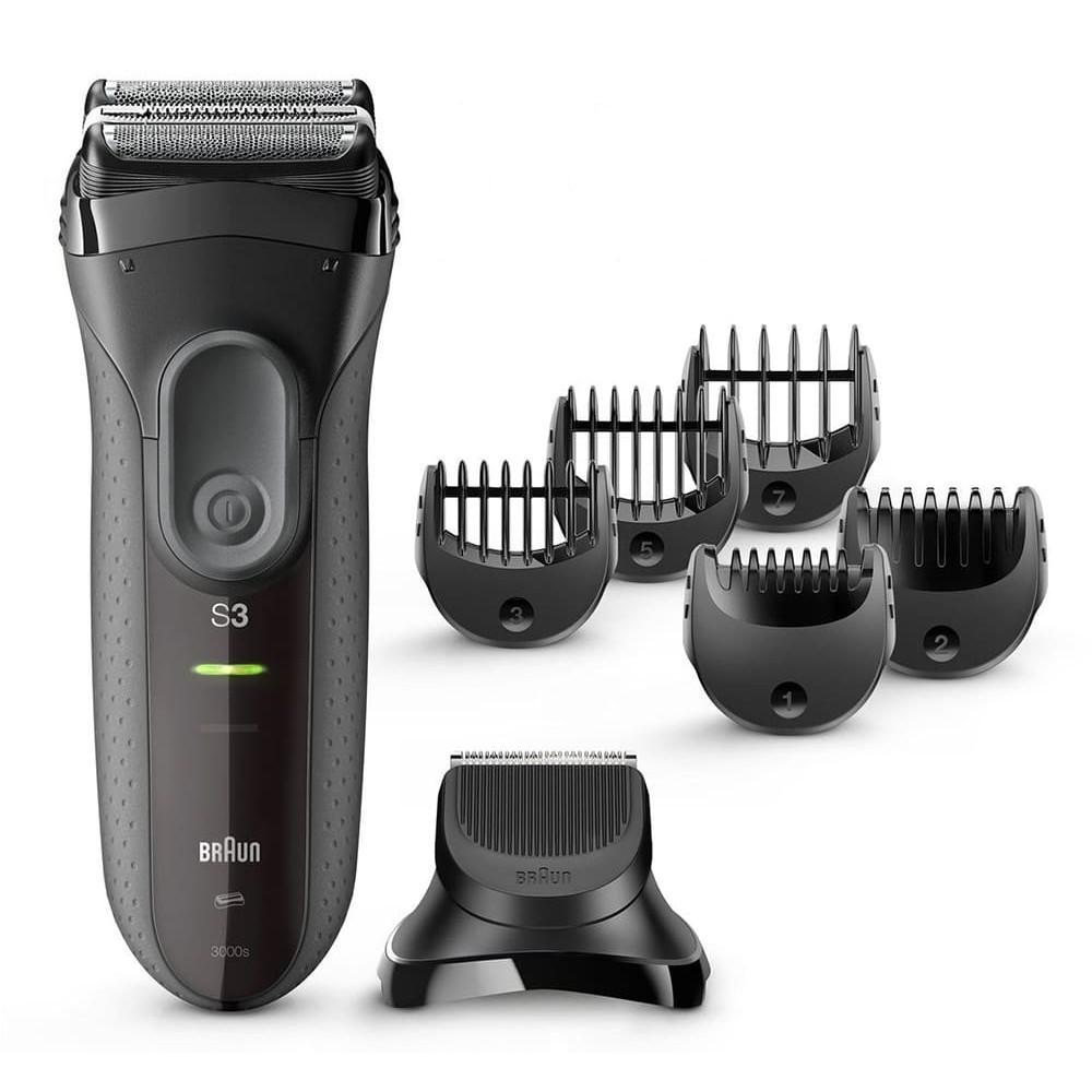 Электробритва Braun Series 3 Shave&Style 3000bt + насадка-триммер и 5 гребней фото