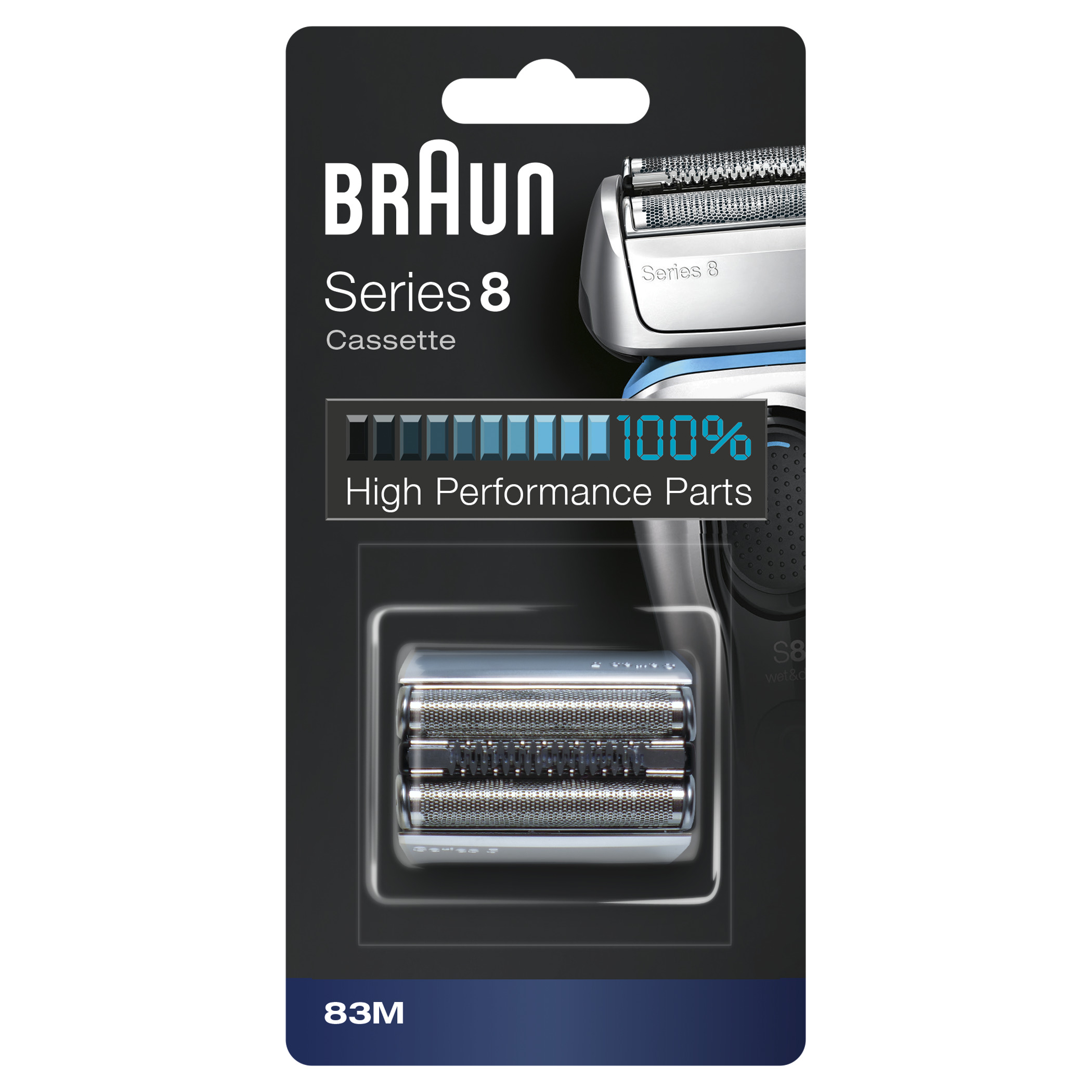Сетка и режущий блок 83M для электробритв Braun Series 8