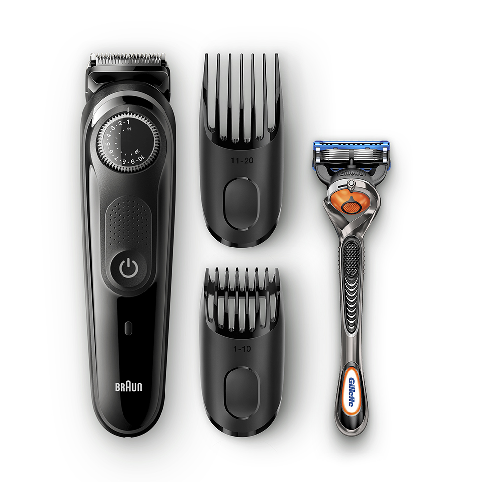 Триммер для бороды Braun BT5042 + Бритва Gillette фото