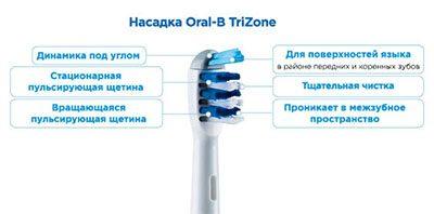 Насадки для зубных щеток браун