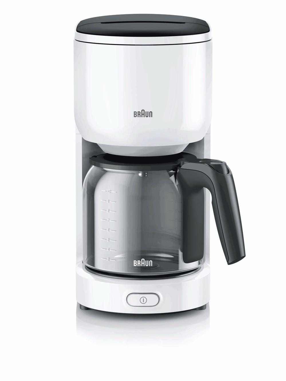 KF3100 WH Капельная кофеварка Braun KF 3100 WH белая 0X13211017
