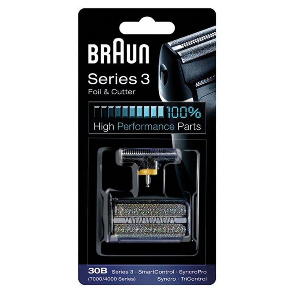 Фото - Сетка и режущий блок 30B для электробритв Braun Series 3 7514