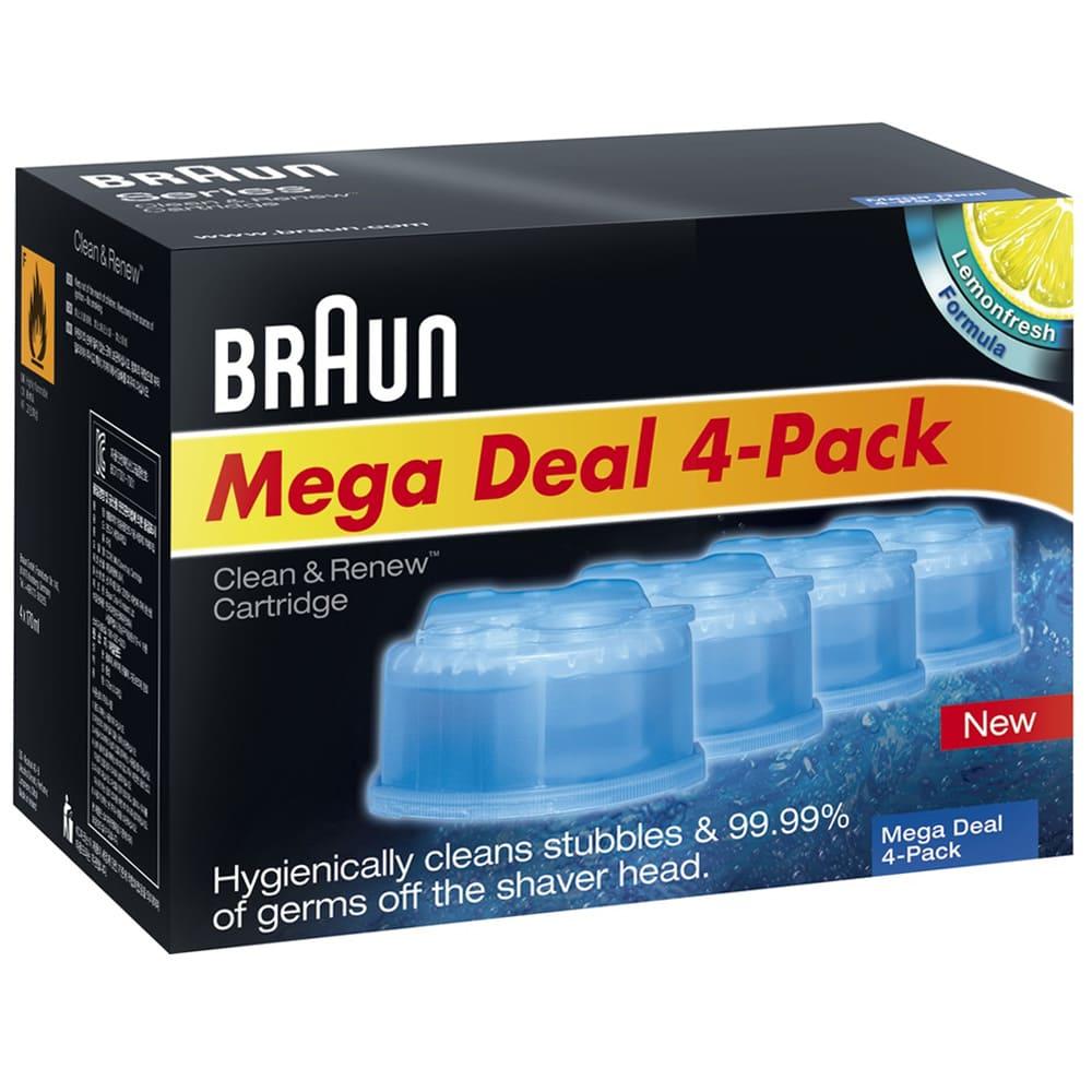 Картридж для бритв Braun с чистящей жидкостью CCR4