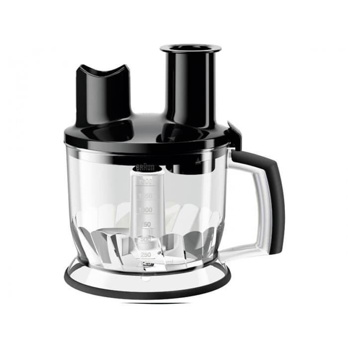 Насадка кухонный комбайн Braun MQ70 Черный (1500 мл) кухонный комбайн moulinex fp244110